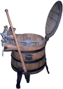 Práčka IDEAL z Hraníc na Morave (1905)